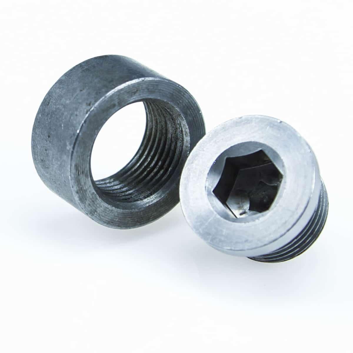 Mild Steel M18X1.5 Thread Bung and Plug Kit - 3735