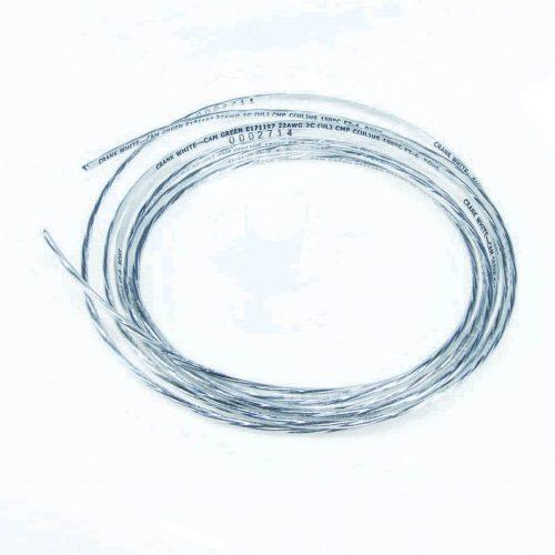 Wire - Single Core Shielded 20 Gauge - 10'