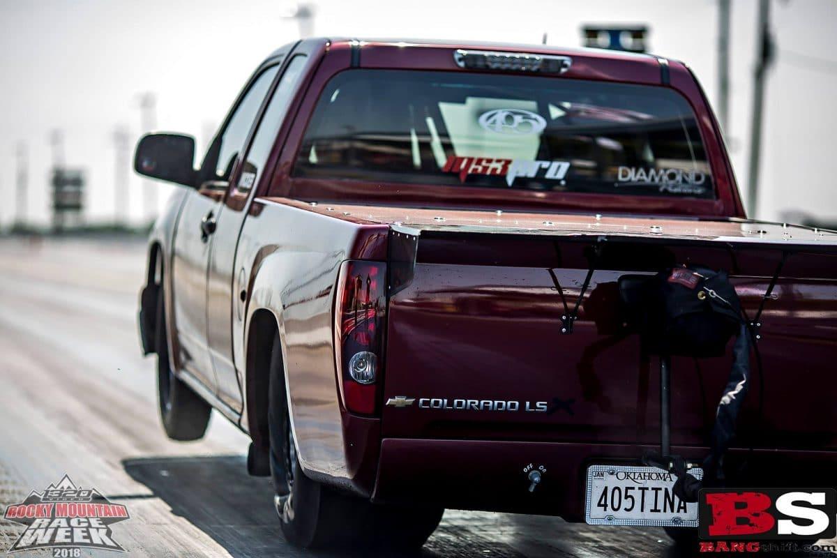 Street Outlaws Tina Pierce WINS Rocky Mountain Race Week